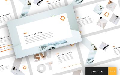 Jingga - Creative Presentation Google Slides