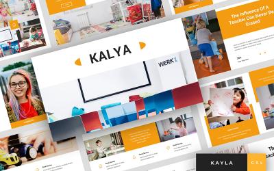 Kayla - Kindergarten Presentation Google Slides