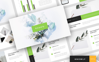 Knowly - Clean Presentation Google Slides