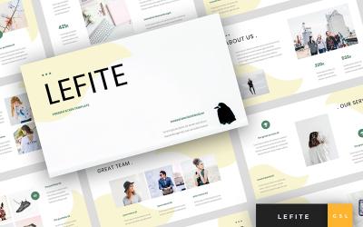 Lefite - Magazine & Creative Presentation Google Slides