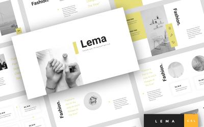 Lema - Fashion Presentation Google Slides