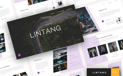 Lintang - Creative Presentation Google Slides