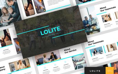 Lolite - Insurance Presentation Google Slides