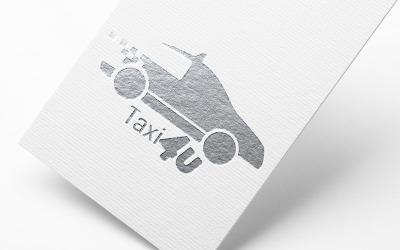 Taxi4U - Cab Logo Vorlage
