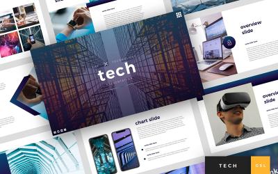 Tech - Technology Presentation Google Slides