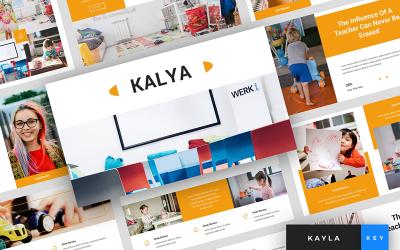Kayla - Kindergarten Presentation - Keynote template