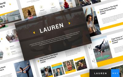 Lauren - Yoga Presentation - Keynote template