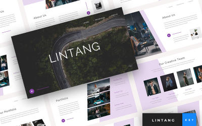 Lintang - Creative Presentation - Keynote template