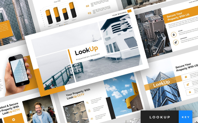 LookUp - CCTV Presentation - Keynote template