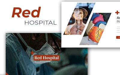 Red Hospital Medical - Keynote template