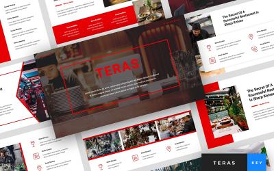 Teras - Restaurant Presentation - Keynote template