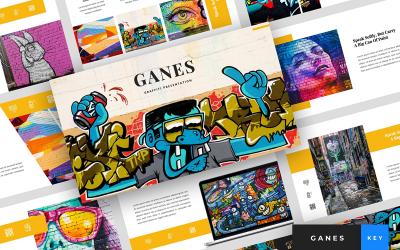 Ganes - Graffiti Presentation - Keynote template