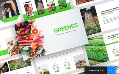 Greenes - Organic Presentation - Keynote template