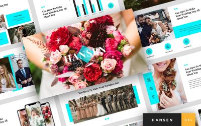 Hansen - Wedding Presentation Google Slides
