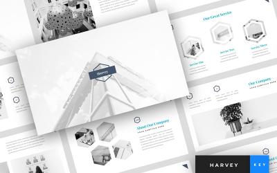 Harvey - Creative Presentation - Keynote template