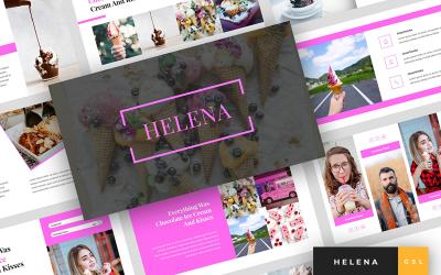 Helena - Ice Cream Presentation Google Slides