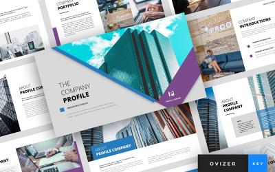 Ovizer - Company Profile Presentation - Keynote template