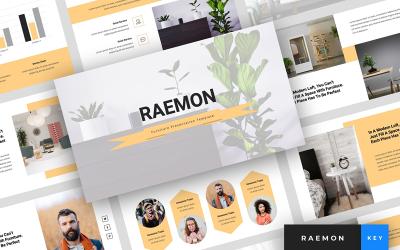 Raemon - Furniture Presentation - Keynote template