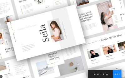 Seila - Fashion Presentation - Keynote template
