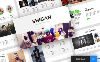 Shigan - Vape Shop Presentation - Keynote template