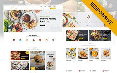 WallFood - Restaurant Store OpenCart Template