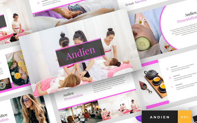 Andien - Spa & Beauty Presentation Google Slides