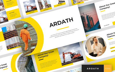 Ardath - Construction Presentation Google Slides