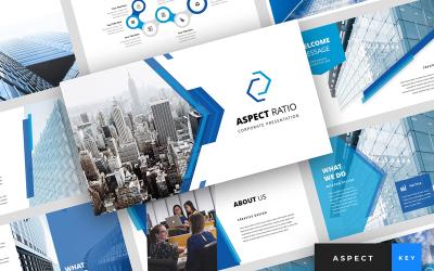Aspect - Corporate Presentation - Keynote template