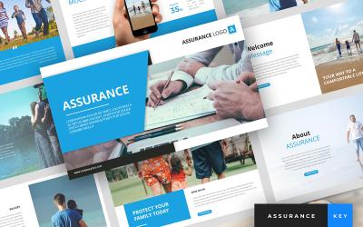 Assurance - Insurance Presentation - Keynote template