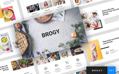 Brogy - Food & Beverages Presentation - Keynote template