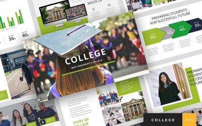 College - University Presentation Google Slides