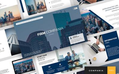 Compania - Firm Presentation Google Slides
