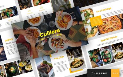 Cuillere - Restaurant Presentation Google Slides