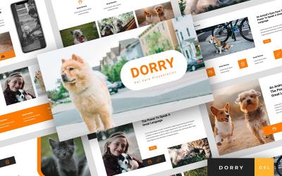 Dorry - Pet Care Presentation Google Slides