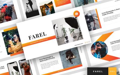 Farel - Photography Presentation Google Slides