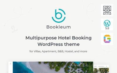 Многоцелевая тема аренды WordPress - Bookleum