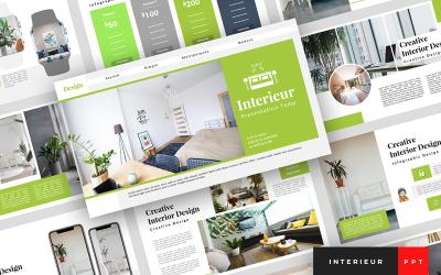 Interieur - Interior Design Presentation PowerPoint Template