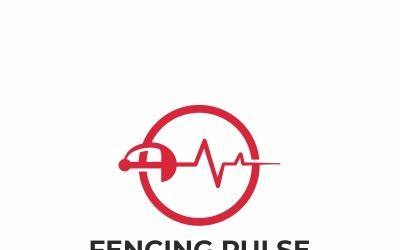 Fencing Pulse Logo Template