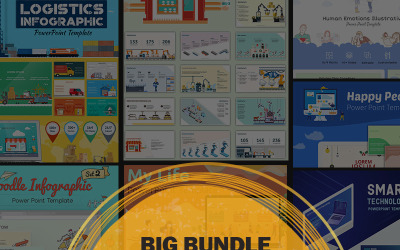 Big Bundle Sjablonen PowerPoint presentatie