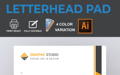 Latterhead - Corporate Identity Template