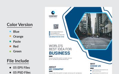 Nahian Business Flyer - Corporate Identity Template