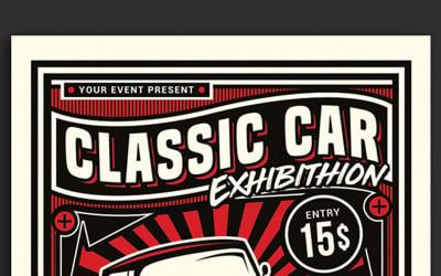 Classic Car Exhibition - Corporate Identity Template