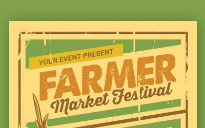 Farmer Market Festival - Corporate Identity Template