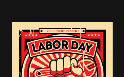 Labor Day Flyer - Corporate Identity Template