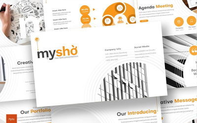 Myshio PowerPoint Template