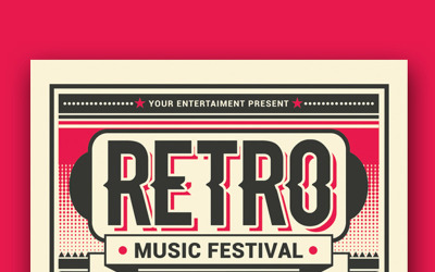 Retro Music Festival - Corporate Identity Template