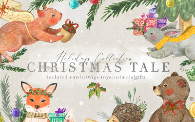 Christmas Tale Graphic Collection - Illustration