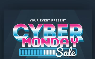 Cyber Monday Sale - Corporate Identity Template