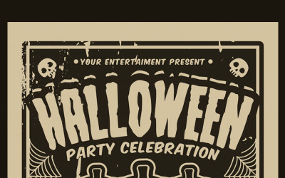 Halloween Party Celebration - Corporate Identity Template
