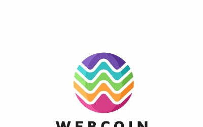 Webcoin-W Letter Logo Template